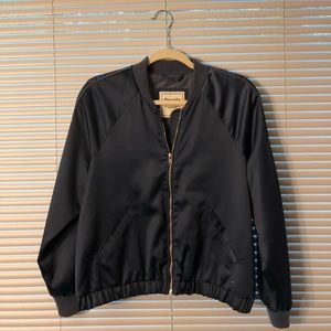 Abercrombie and Fitch Satin Jacket